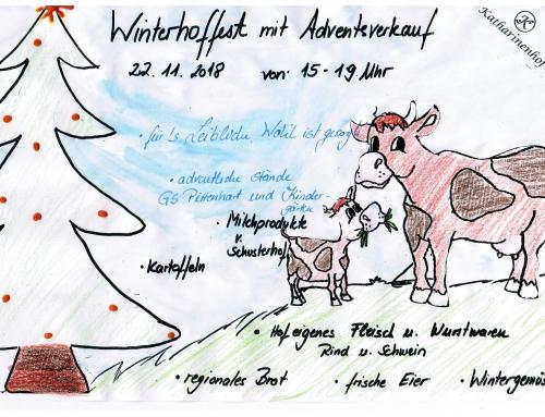 Winterliches Hoffest mit Adventsständen am 22. November 2018